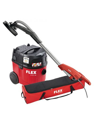 Ponceuse giraffe flex ge 5 aspirateur flex vc 35 lmc sac de transport machines - Location ponceuse girafe ...