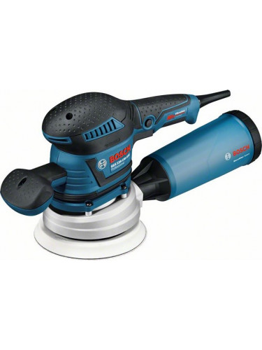 PONCEUSE EXCENTRIQUE BOSCH GEX 125 - 150 AVE + ABRASIFS OFFERTS